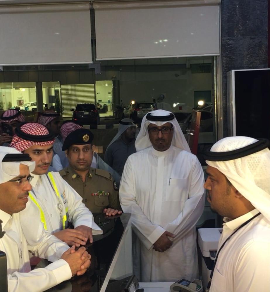 218 زيارة تفتيشية لقطاع تأجير السيارات في مكة