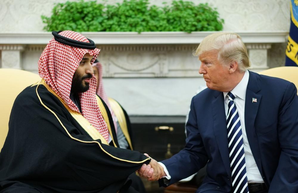 ترمب: نعمل مع السعودية بشكل جدي لوقف تمويل الإرهاب من أي جهة