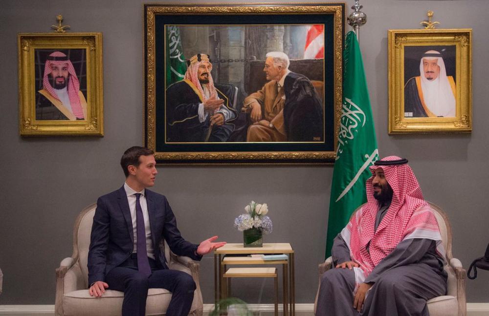 محمد بن سلمان يبحث مع كوشنر تطورات عملية السلام