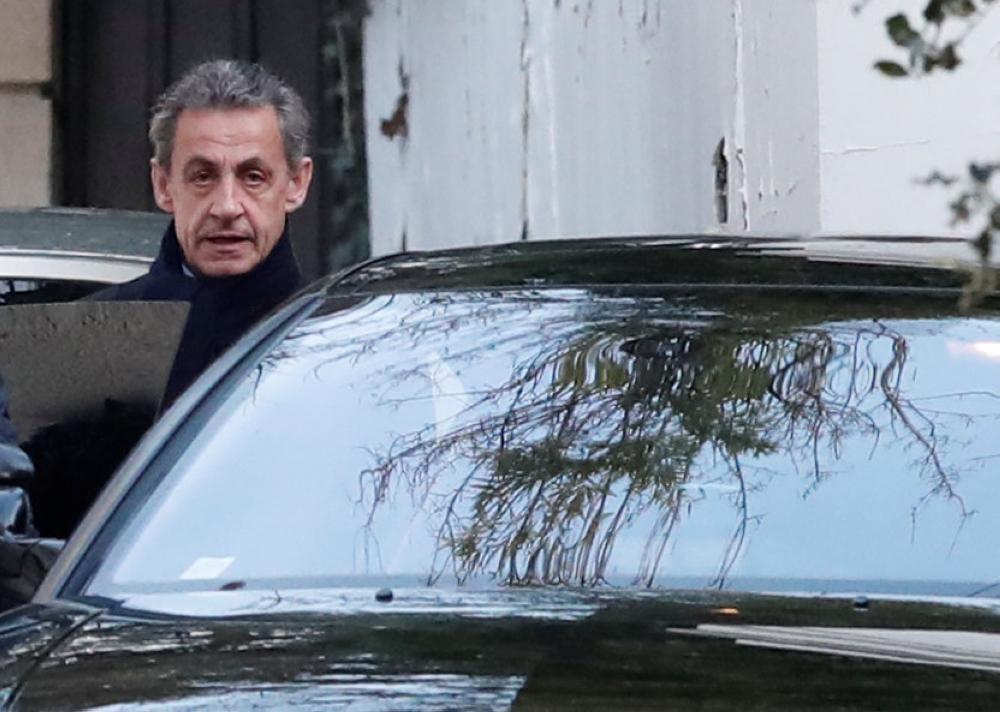 ساركوزي يندد أمام القضاة بتعرضه «للتشهير»