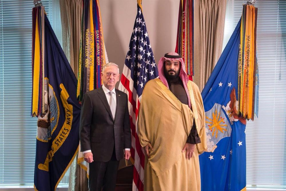 ولي العهد ووزير الدفاع الأمريكي يبحثان جهود محاربة الإرهاب والتعاون الاستراتيجي