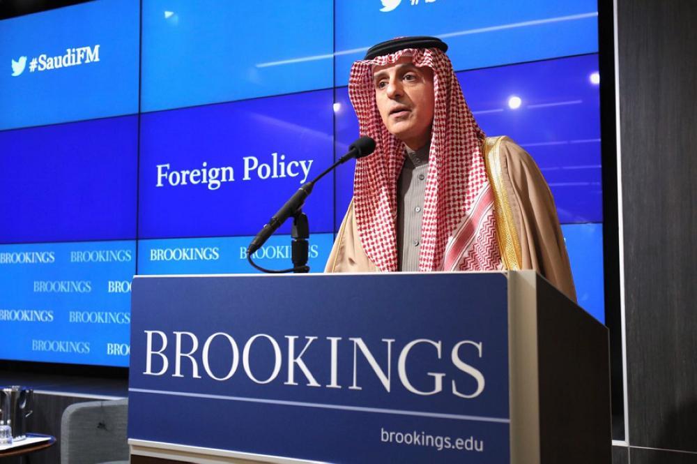 الجبير: نتعاون مع أمريكا لاحتواء إيران.. وعانينا معها منذ 1979