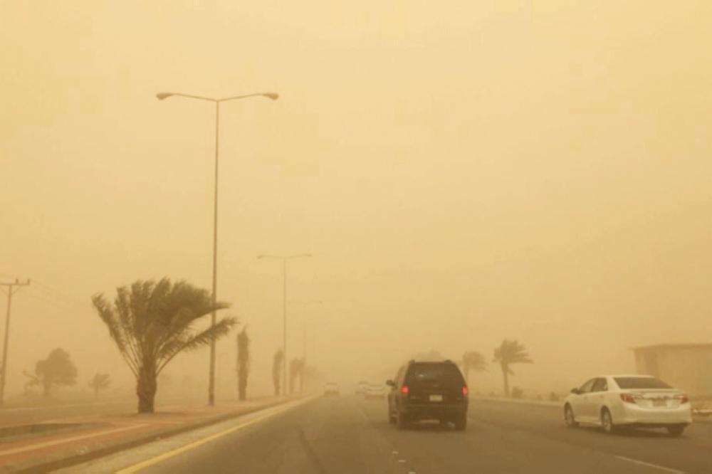 «الأرصاد»: الغبار يضرب 6 مناطق