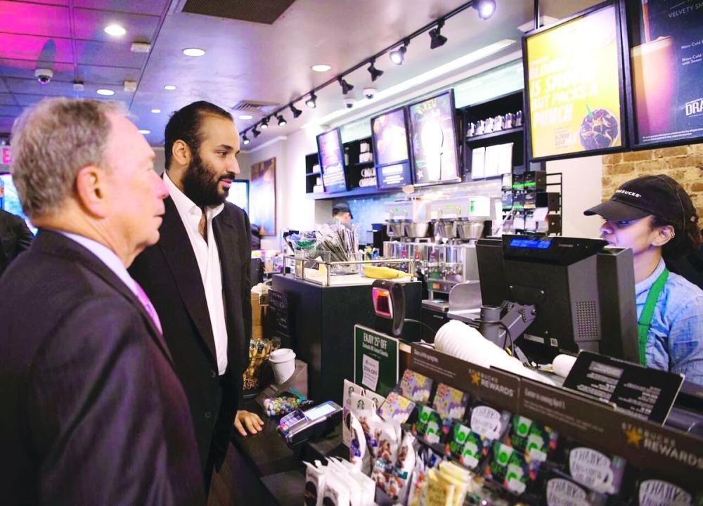 ماذا قدمت «شونيل» لمحمد بن سلمان في أحد المقاهي النيويوركية؟