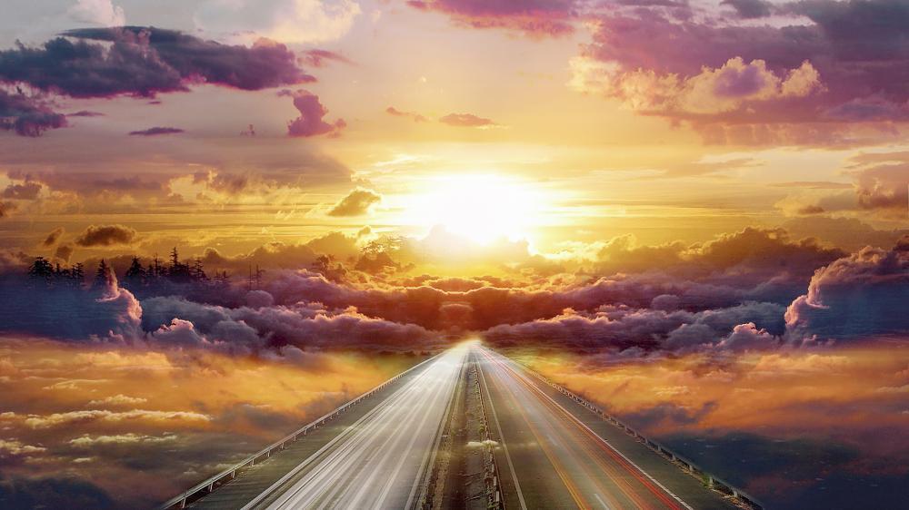 highway-cloud-sky-sun