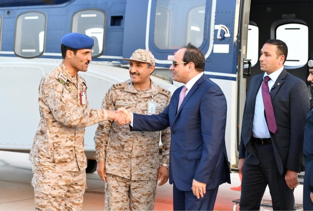 عدد من رؤساء الدول يغادرون المنطقة الشرقية عقب مشاركتهم في القمة العربية و «درع الخليج»