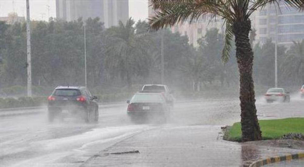«الأرصاد»: أمطار رعدية على 10 مناطق