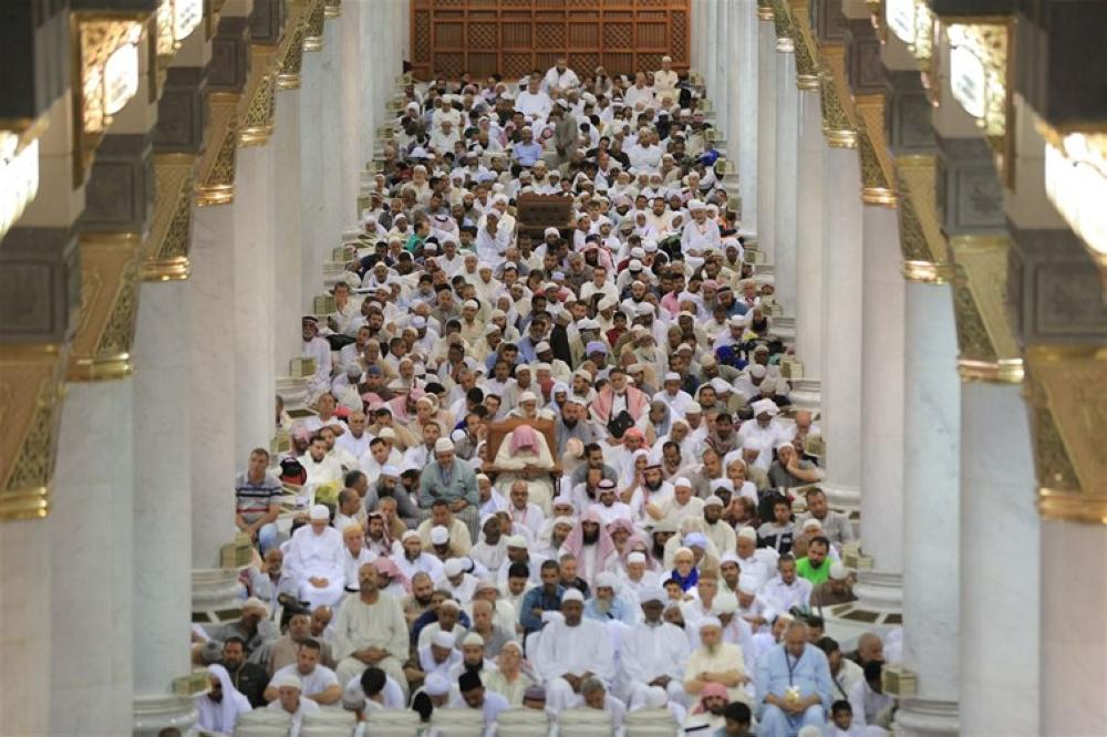 خطيب المسجد النبوي: في شعبان يكرم الله المؤمنين ويغفر للموحدين والصوم من أعظم العبادات