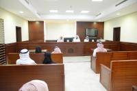 إحدى الجلسات القضائية في المحكمة