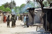 هجوم سابق في نيجيريا. (أرشيفية)