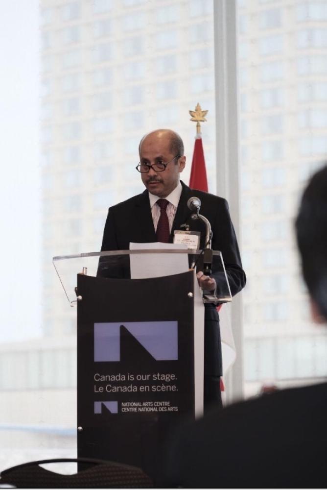 السفير السديري: كندا من أهم الشركاء التجاريين للدول العربية