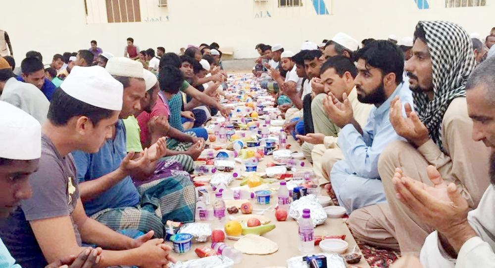 مشروع إفطار صائم.