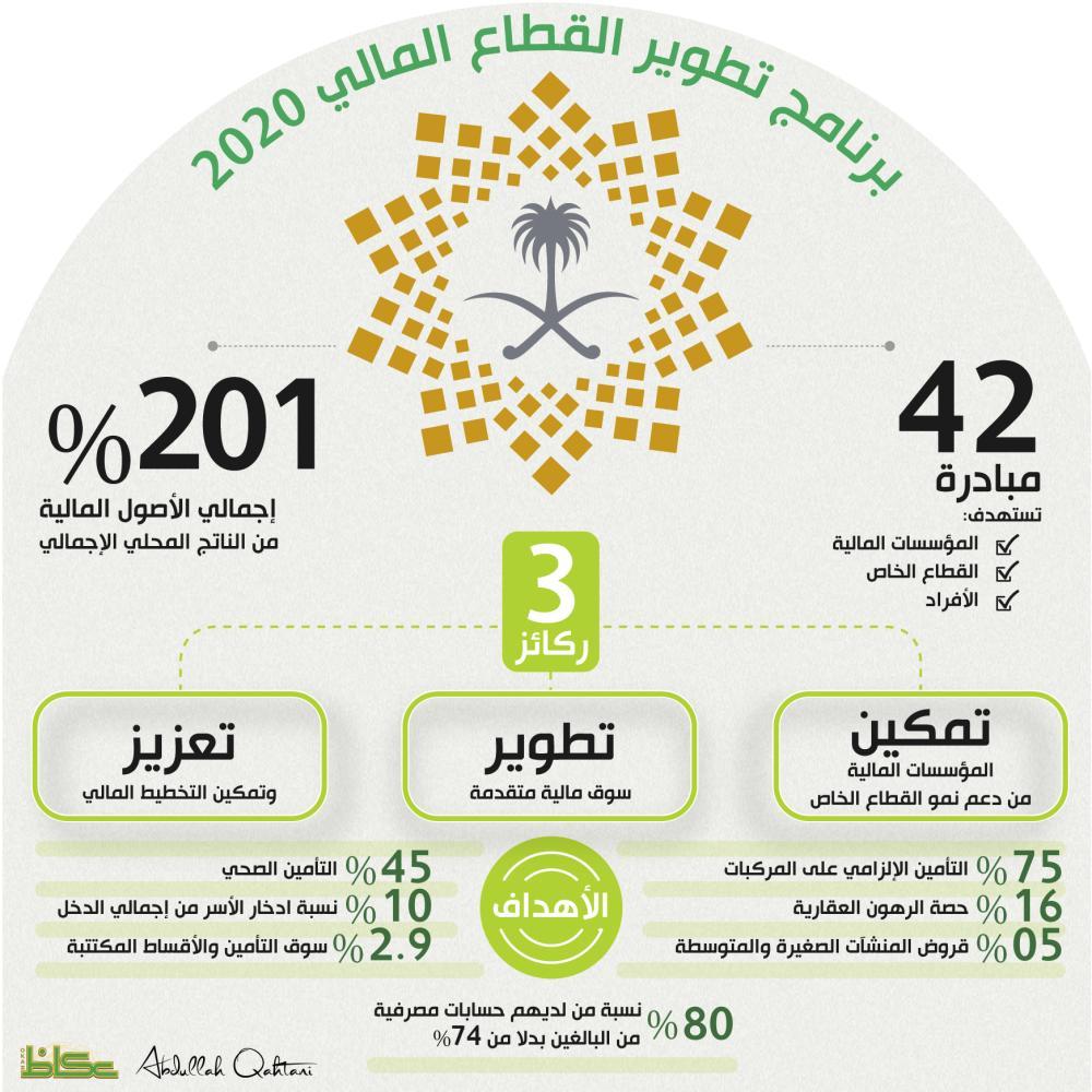 برنامج تطوير القطاع المالي 2020