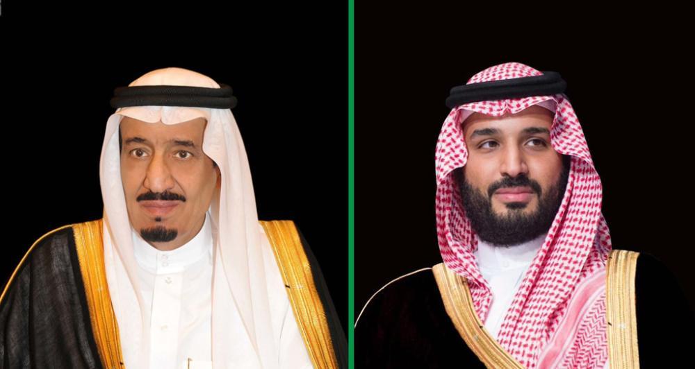 الملك وولي العهد يتبادلان التهاني مع قادة الدول الإسلامية