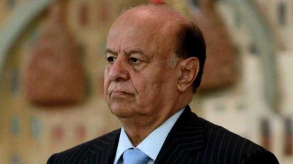هادي: «التحالف» أفشل خطط إيران في اليمن