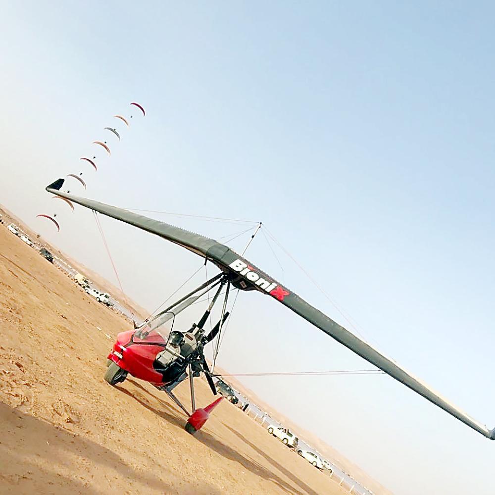«الزراعة»: تنظيم التطعيس والطيران الشراعي في «عسيلان»