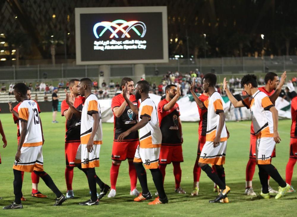 «مكة» يفوز على مصر في افتتاحية البطولة الرمضانية