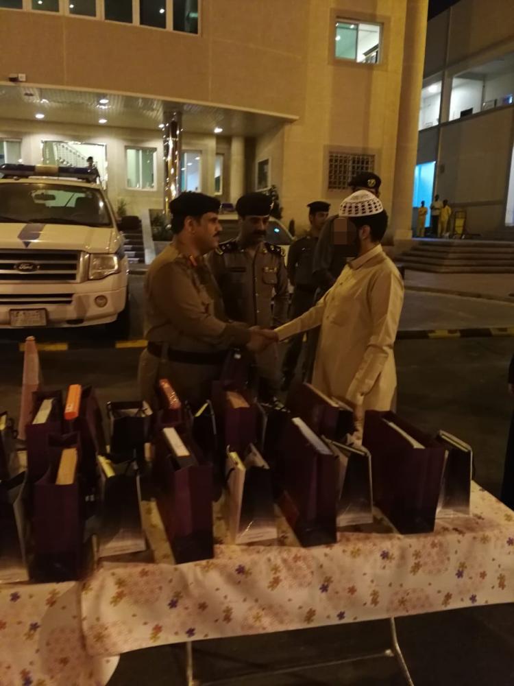 إطلاق سراح ٢٦٧ سجيناً في منطقة مكة شملهم العفو