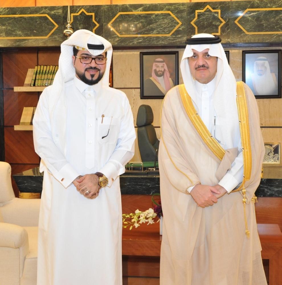 أمير الشرقية يهنئ الغزال باختياره عضواً في لجنة «الإعلام» بالمونديال