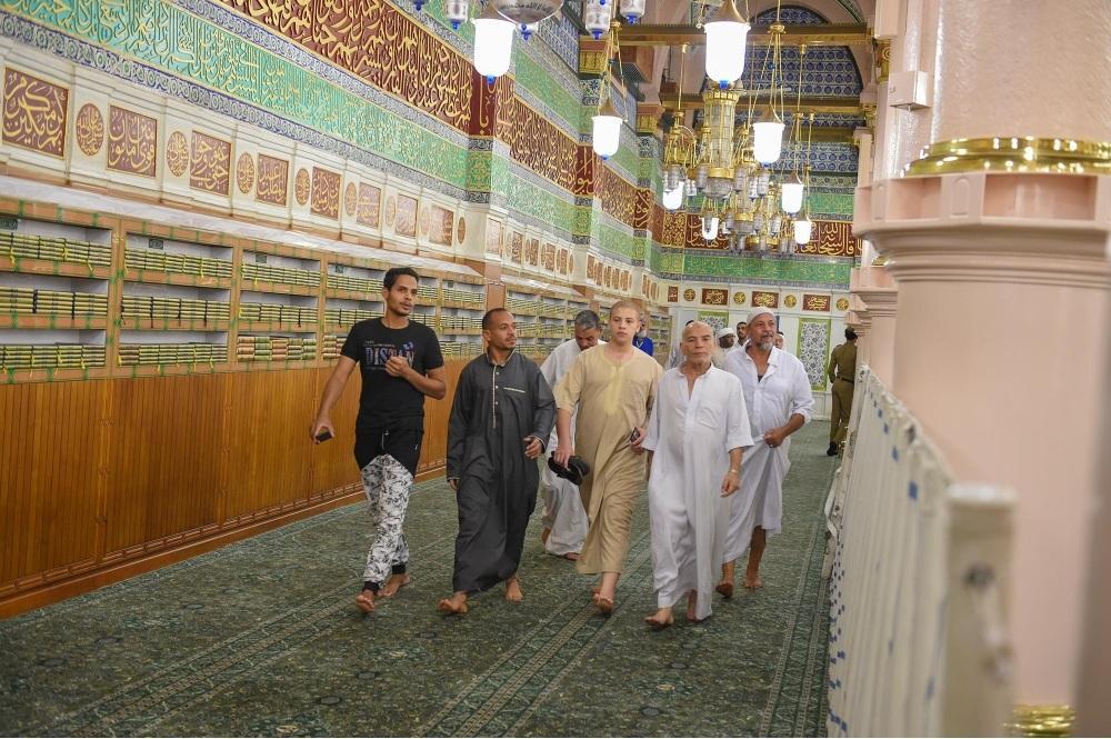إتاحة زيارة المواجهة الشريفة بالمسجد النبوي أثناء صلاة التراويح
