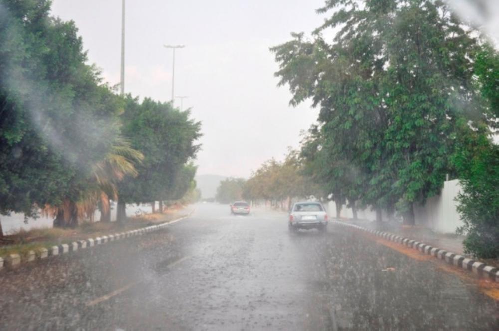 تنبيه متقدم باستمرار هطول أمطار رعدية على محافظة الطائف