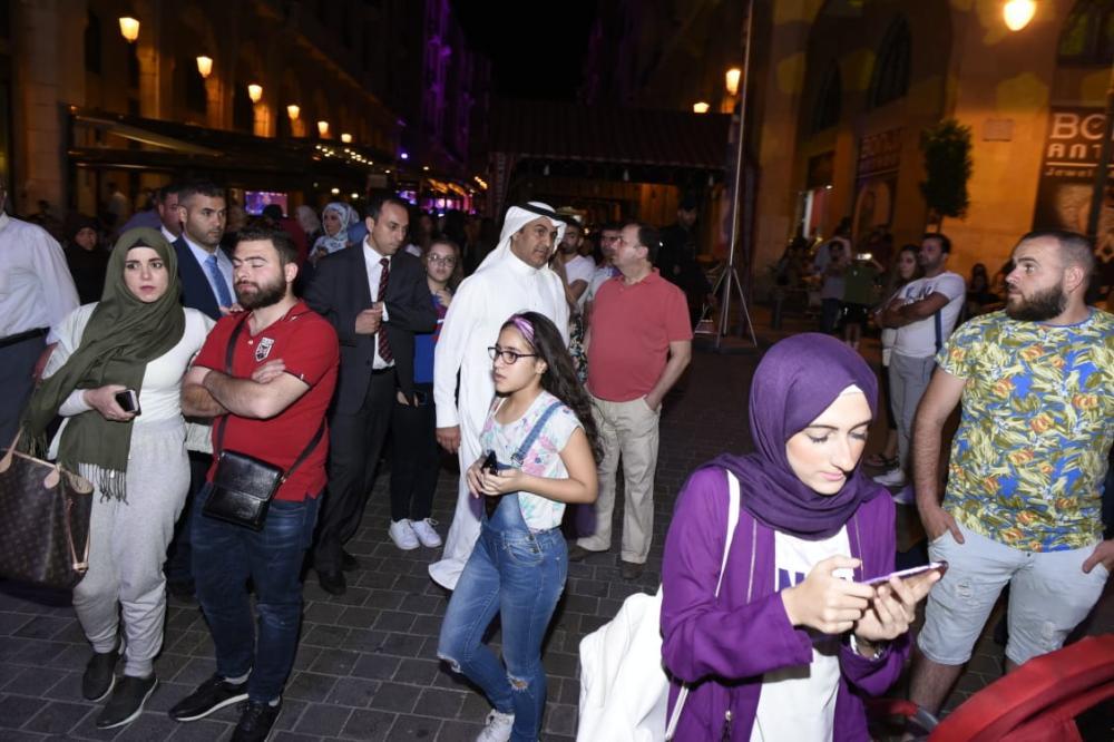 العلولا يتجول في بيروت: السعوديون موجودون في لبنان بقوة