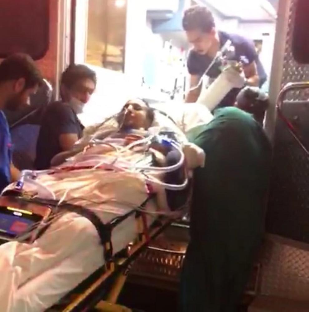نقل المريض الوادعي بالإخلاء الطبي من عسير إلى الرياض