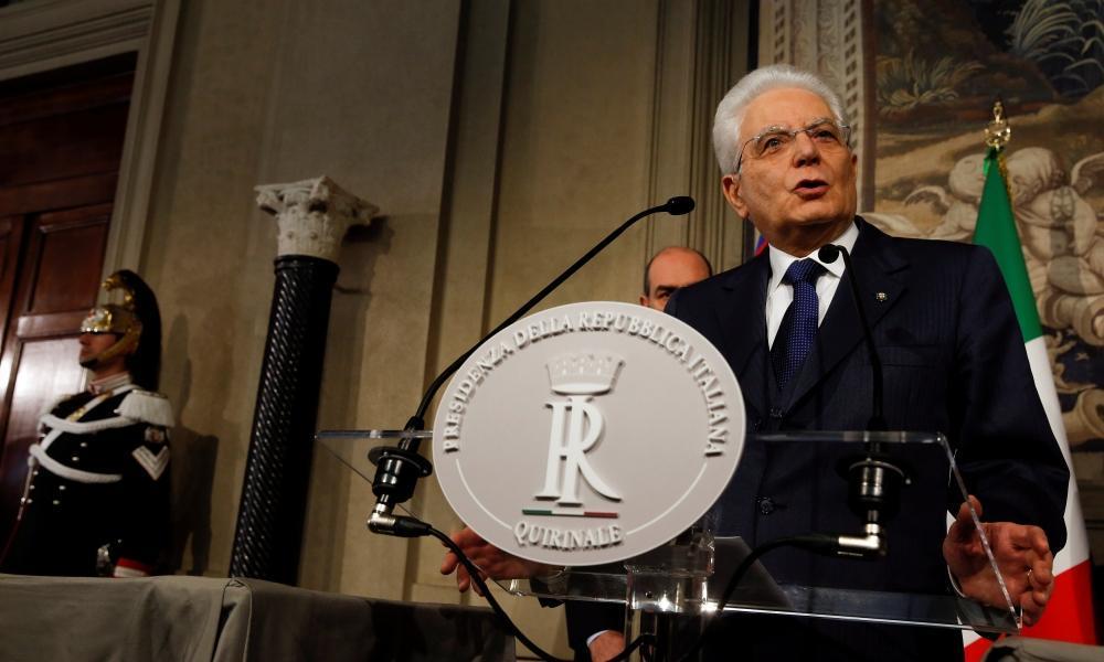 الرئاسة الإيطالية: تعيين جوزيبي كونتي رئيساً للوزراء