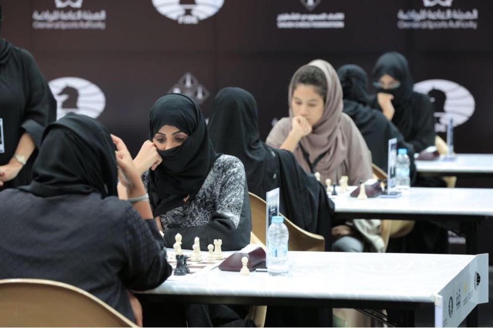 داليا السميري تتوج بطلة للشطرنج