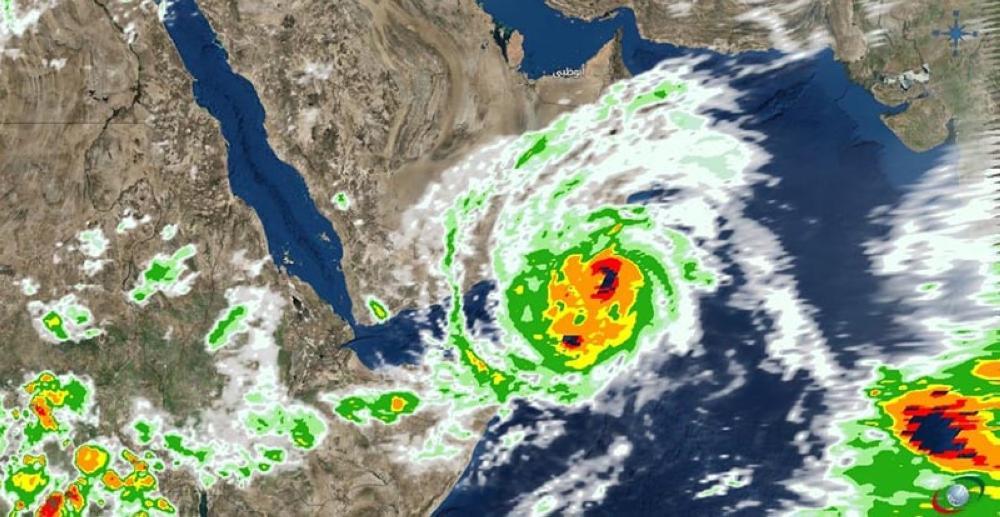 إعصار «مكونو».. هيئة الأرصاد تطمئن والصحة تعلن الطوارئ