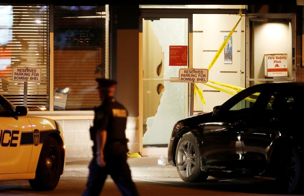 كندا: سقوط 15 مصابا بتفجير عبوة ناسفة في مطعم