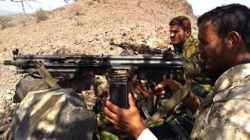 الجيش اليمني يعلن مديرية المتون منطقة معادية