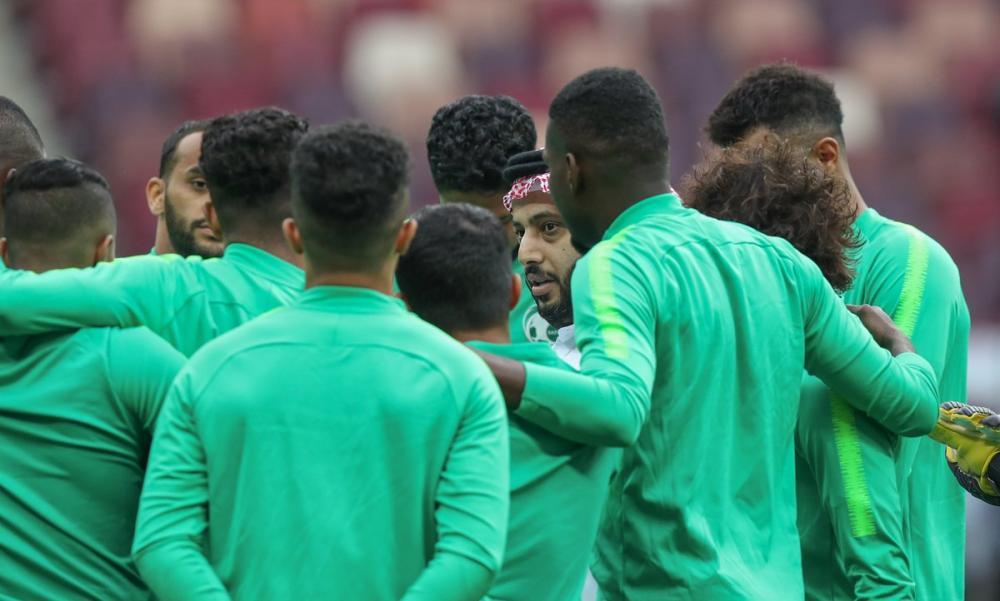 الأخضر يختتم استعدادته.. وآل الشيخ للاعبين: الفرصة أمامكم لكتابة تاريخ جديد