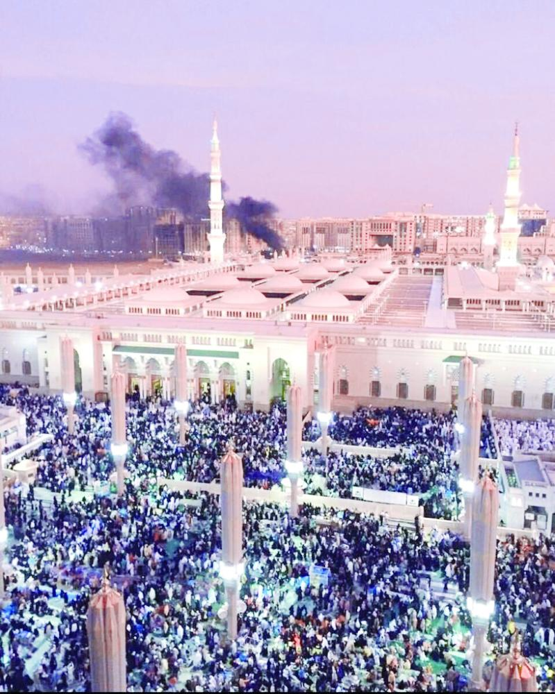 الحادثة التي وقعت في رمضان 1437هـ. (عكاظ)