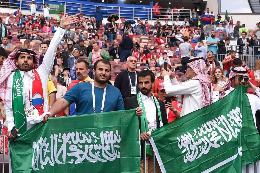 صور   الجماهير السعودية في روسيا.. حب ووفاء
