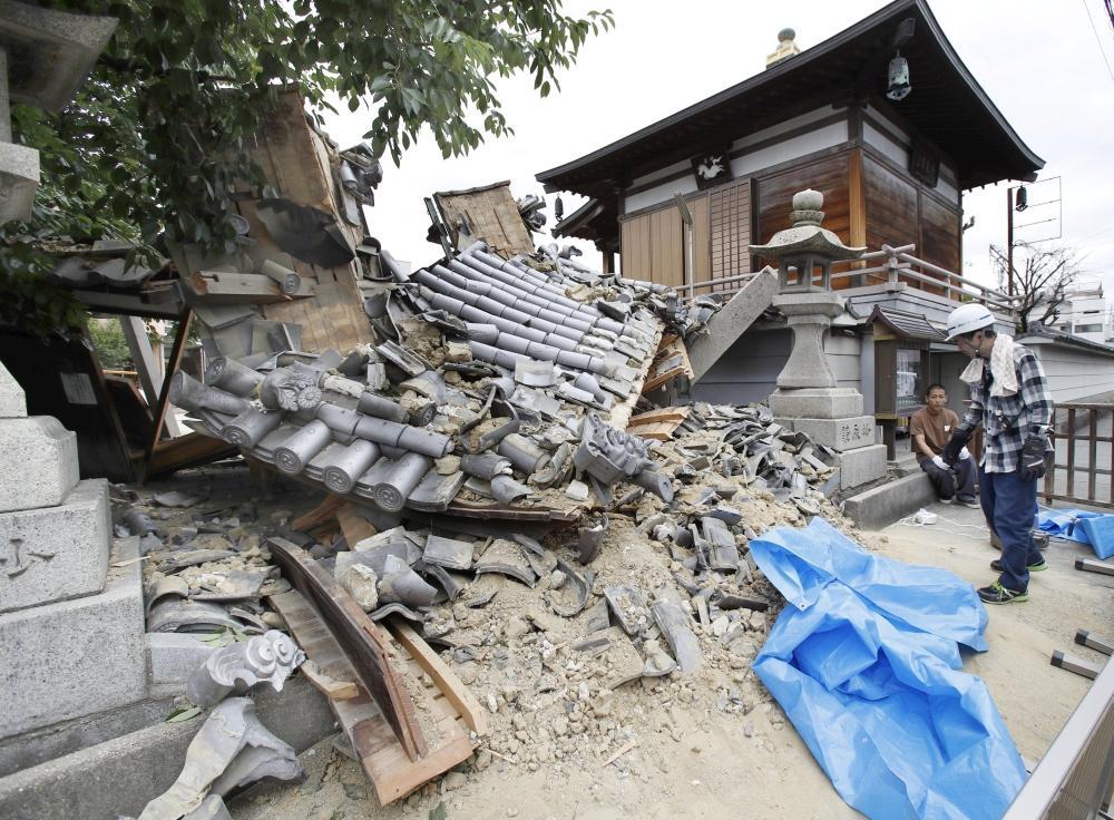 السفارة في اليابان: لا مصابين سعوديين بـ«زلزال أوساكا»