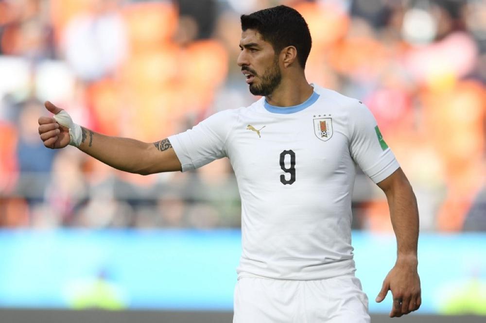 سواريز يخوض مباراة احتفالية ضد السعودية.. لهذا السبب