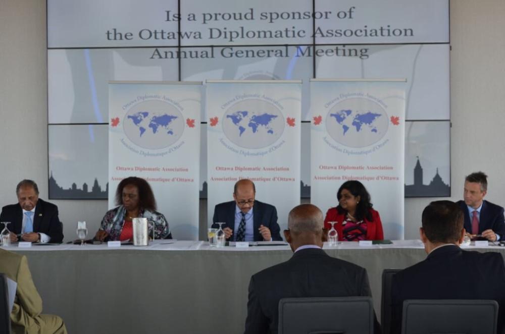 انتخاب المملكة رئيساً لـ«الدبلوماسيين» في أوتاوا