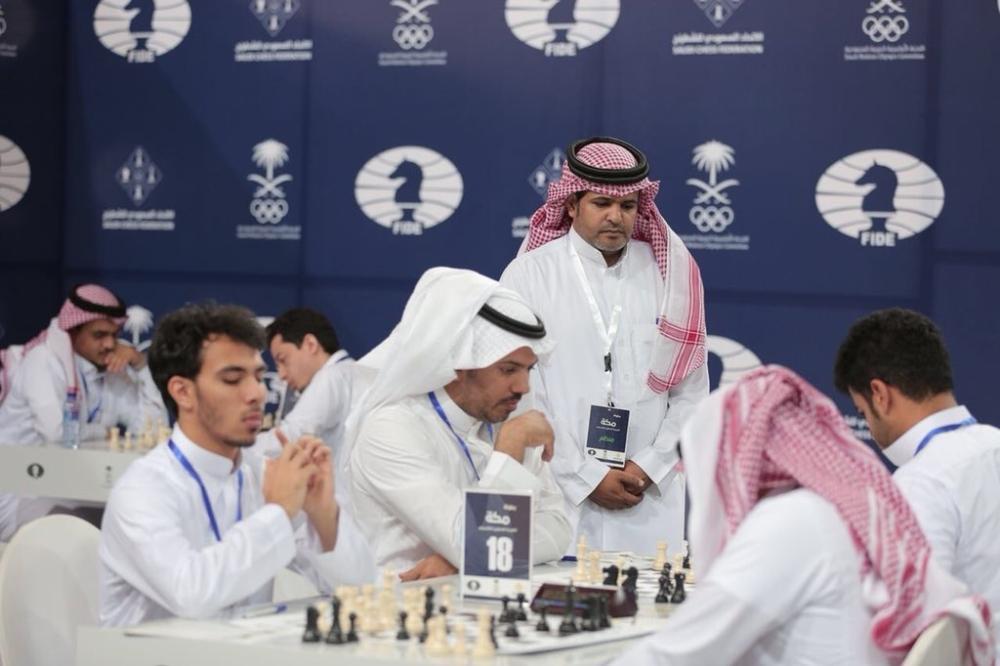 مواجهات افتتاح بطولة مكة للشطرنج.