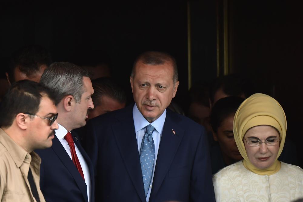 أردوغان يعلن فوزه في الانتخابات التركية