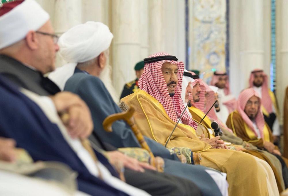 الملك سلمان لوفد المؤتمر الدولي الأفغاني: متفائلون في طي الماضي وفتح صفحة جديدة بأفغانستان