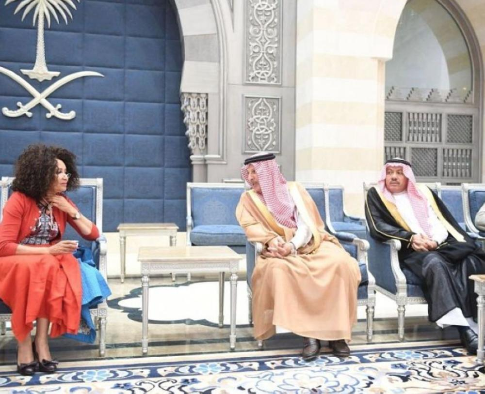 South African Minister of International Relations and Cooperation (foreign minister) Lindiwe Sisulu and accompanying delegation arrived in Jeddah today (Wednesday).