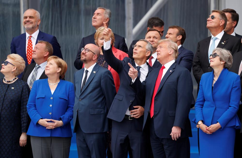 ترمب لـ «الناتو»: نحميكم ولا تدفعون