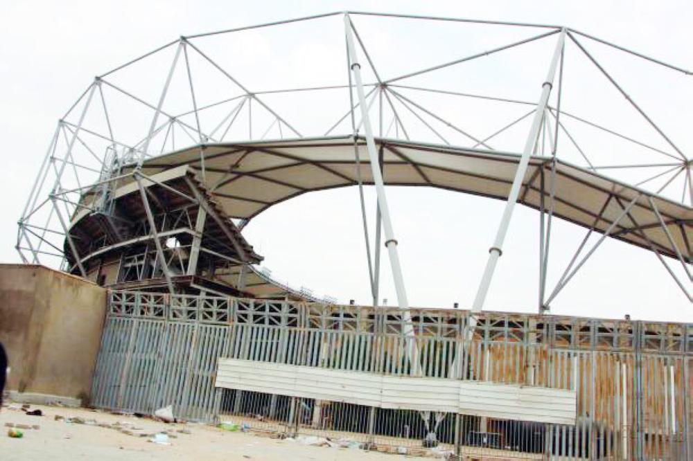 ملعب عبدالله الفيصل.