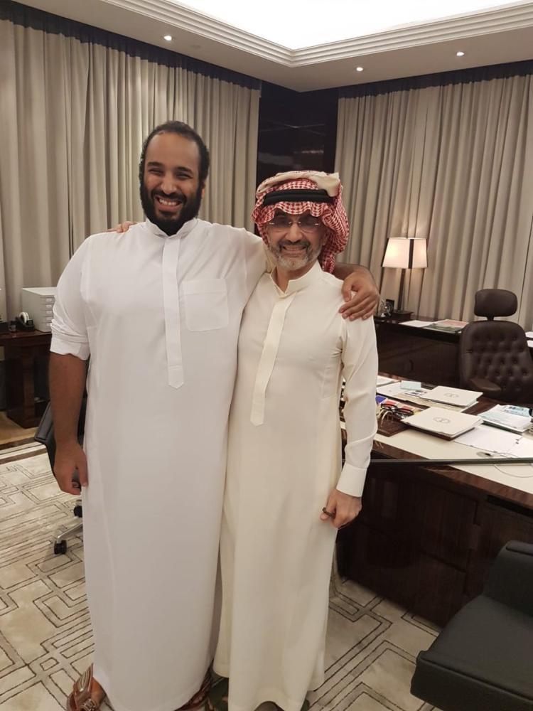 الوليد بن طلال: تشرفت بالاجتماع مع ولي العهد.. ناقشنا مستقبل القطاع الخاص و2030
