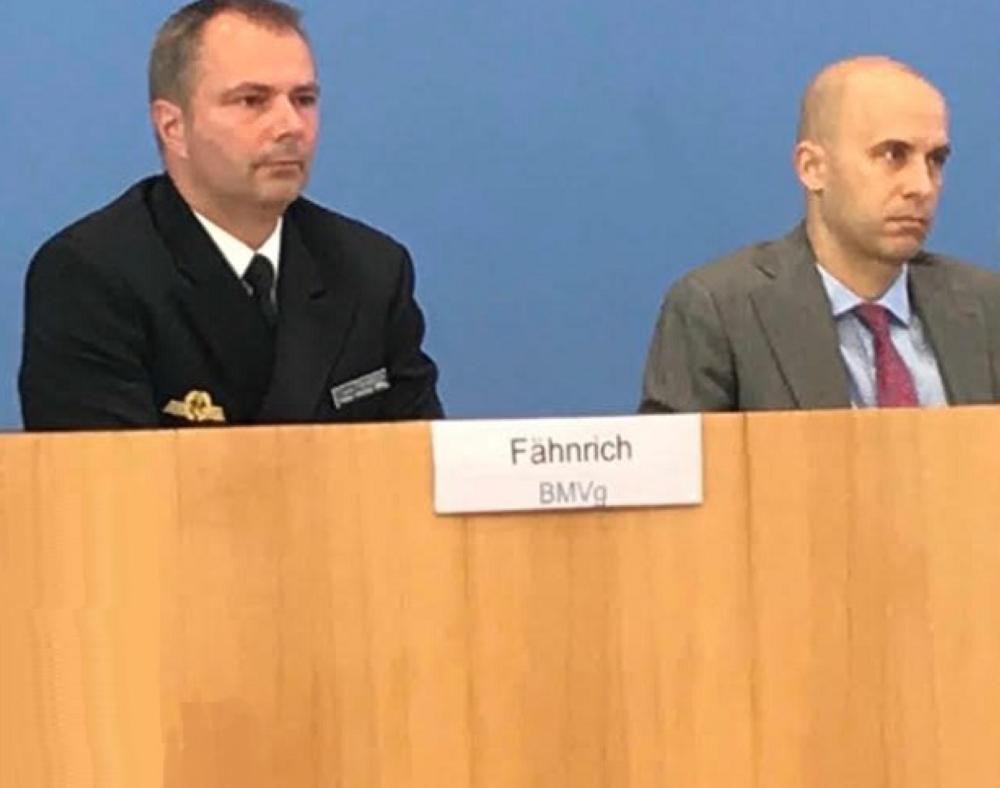 المتحدث باسم وزارة الدفاع الألمانية فرانك فاينريش
