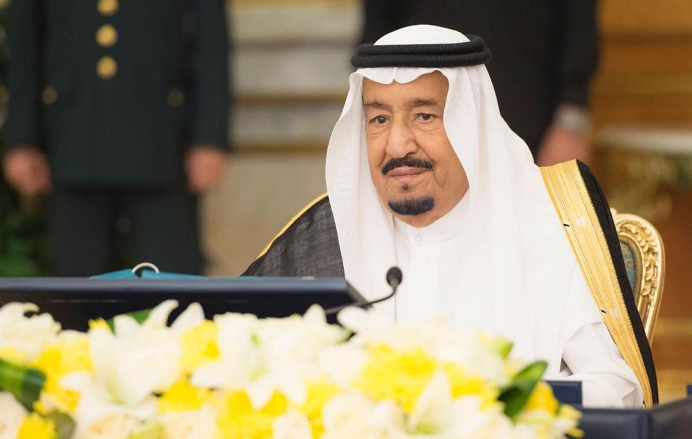 خادم الحرمين مترئسا جلسة مجلس الوزراء