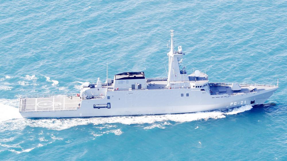 سفينة أفانتي 2200 الإسبانية.