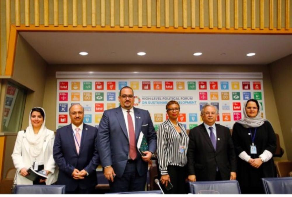 Saudi Arabia presented the first Voluntary National Review (VNR) during the High Level Political Forum held at the United Nations Headquarters in New York on Wednesday, 18 July 2018.