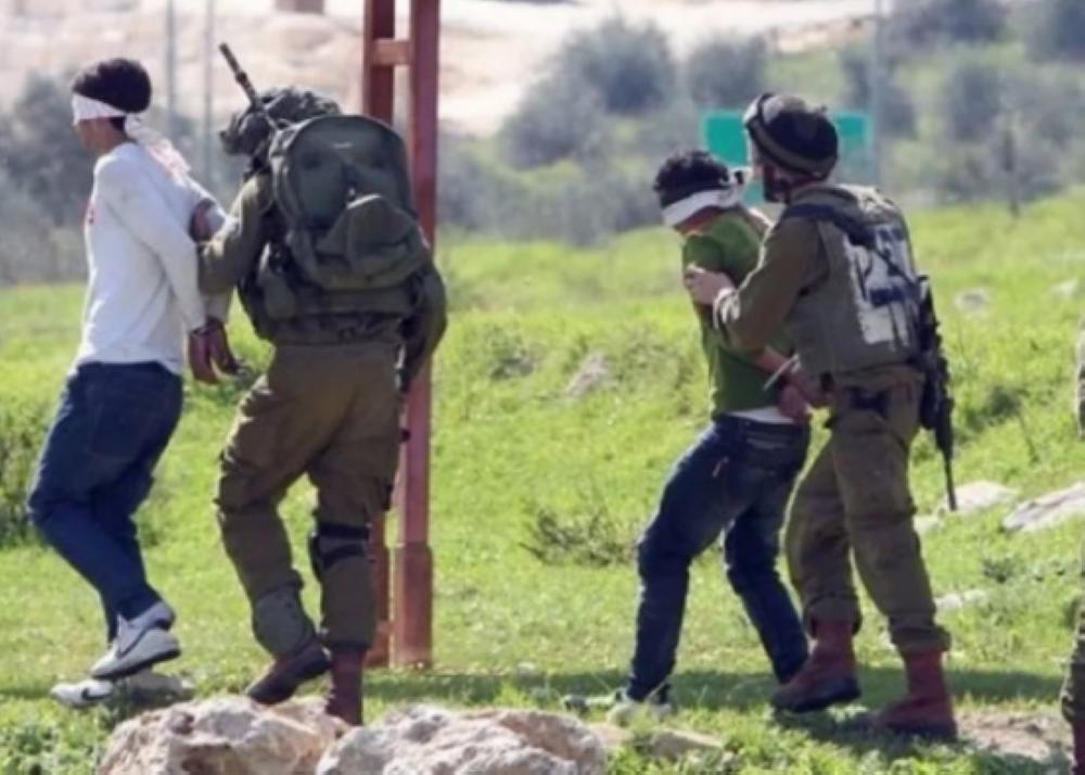 إسرائيل تعتقل 13 فلسطينيًا